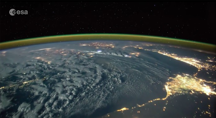 lightning from space video, lightning from iss video, lightning from space video timelapse, iss lightning video, lightning from space, lightning from iss