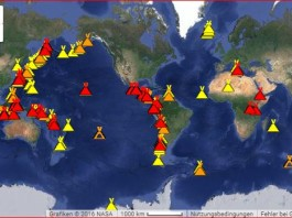 increase volcanic eruption february 2016, dramatic increase volcanic eruptions february 2016, strong increase volcano eruption 2016, 2016 volcano year, strong increase volcano eruption 2016, map of active volcanoes, map of volcano eruption around the world, map currently active volcano