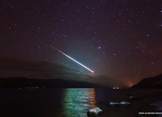 meteor scotland february 29 2016, loud bang meteor scotland february 29 2016, loud boom and flash of light scotland february 2016, mysterious boom and rumbling as fireball explodes over Scotland february 29 2016, scotland fireball explosion video