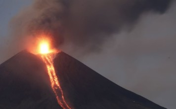 momotombo volcano eruption, teluca volcano eruption, momotombo and teluca volcanoes erupt with 2 hours in nicaragua february 2016