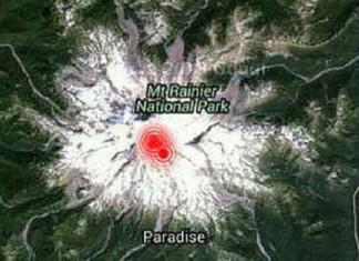 mount rainier earthquake series, series of earthquake mount rainier, swarm of quakes under mount rainier, mount rainier shook by series of quakes, quakes mount rainier february 2016