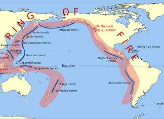 earthquake chile february 2016, earthquake coquimbo chile, earthquake antofagasta february 2016, increasing earthquake chile february 2016, The Peru-Chile trench is part of the Pacific Ring of Fire.