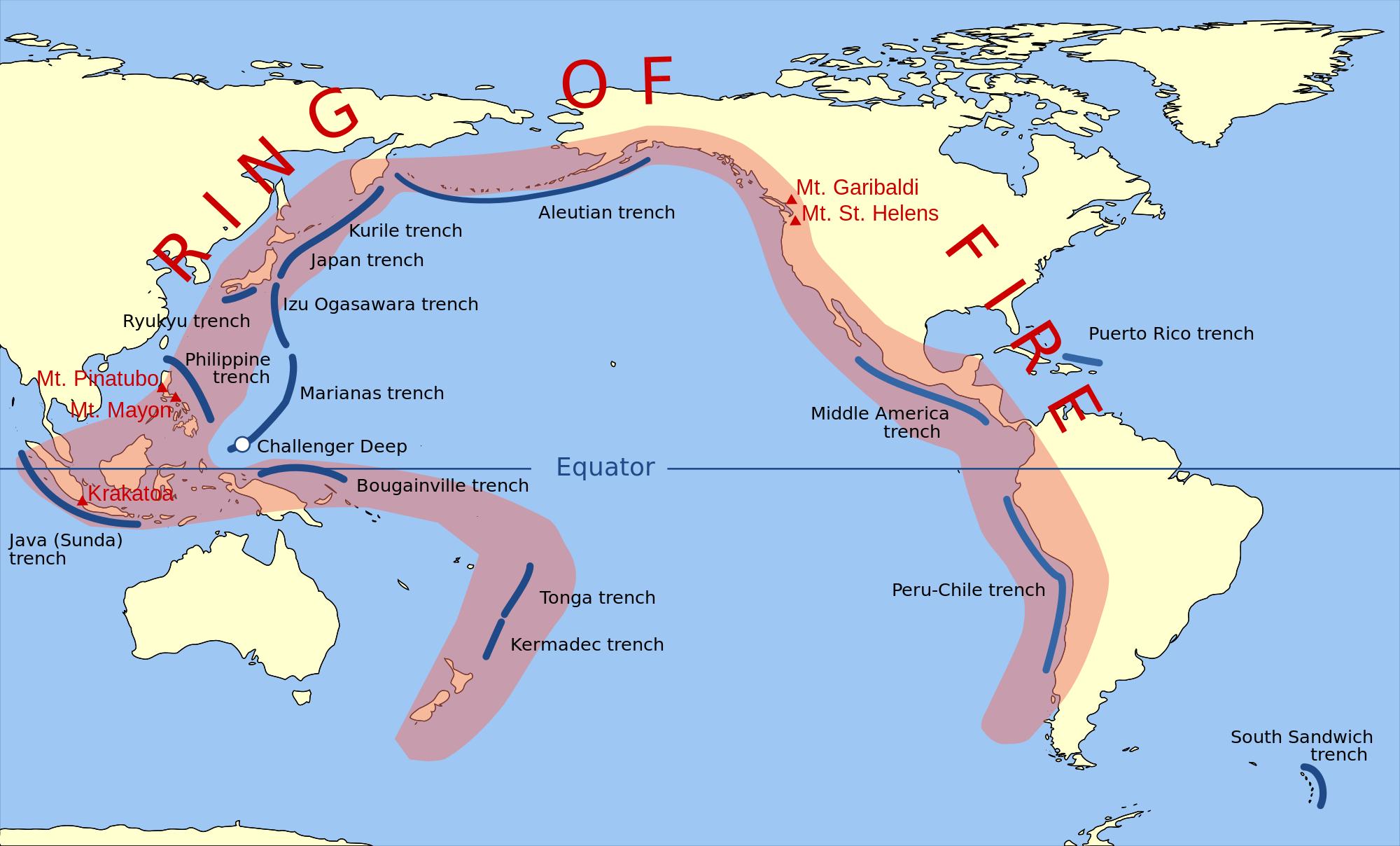 tremblement de terre chili février 2016, tremblement de terre coquimbo chile, tremblement de terre février antofagasta 2016, augmentant tremblement de terre du Chili février 2016, La tranchée Pérou-Chili fait partie de l'Anneau de feu du Pacifique.