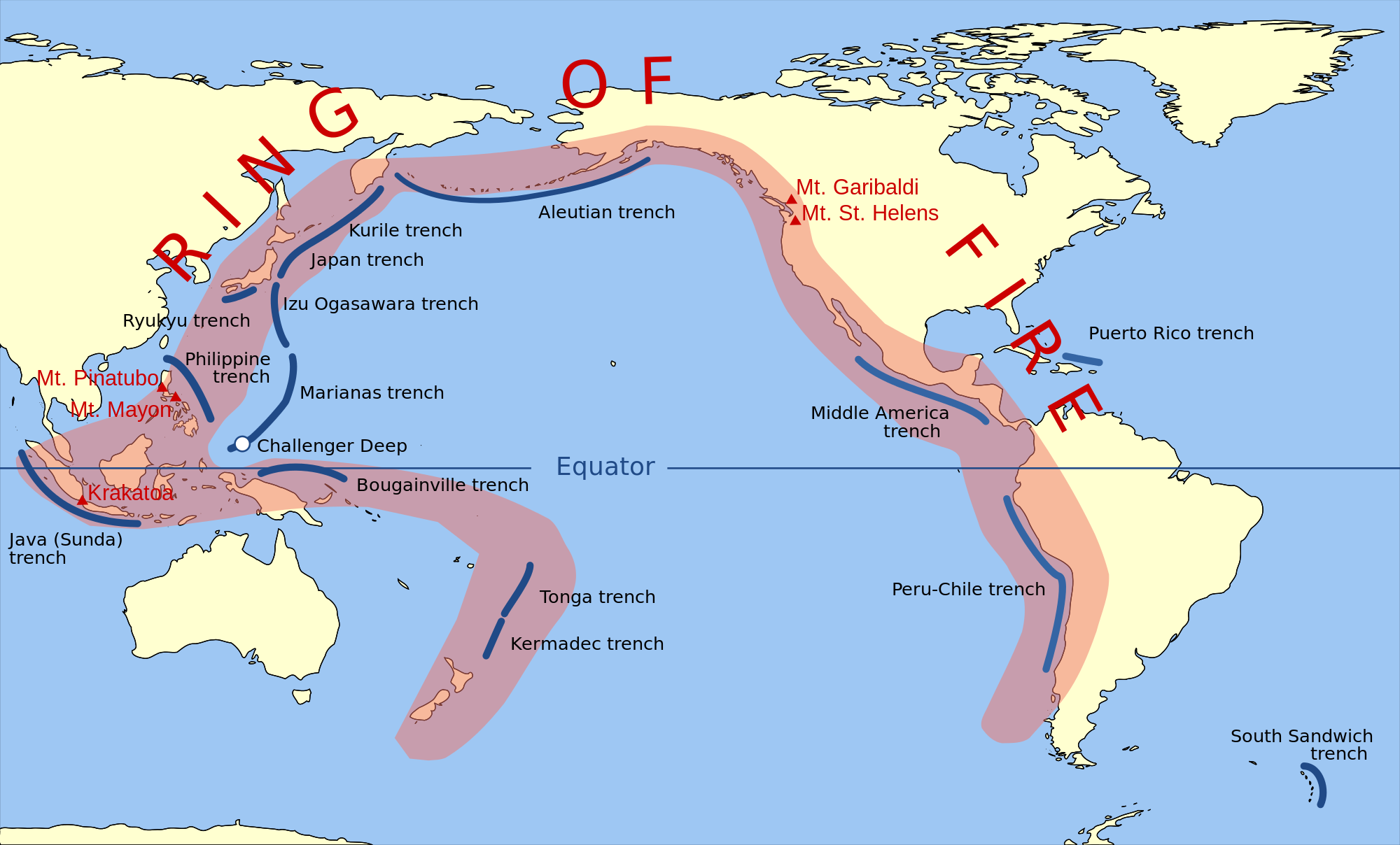 earthquake chile february 2016, earthquake coquimbo chile, earthquake antofagasta february 2016, increasing earthquake chile february 2016, The Peru-Chile trench is part of the Pacific Ring of Fire.