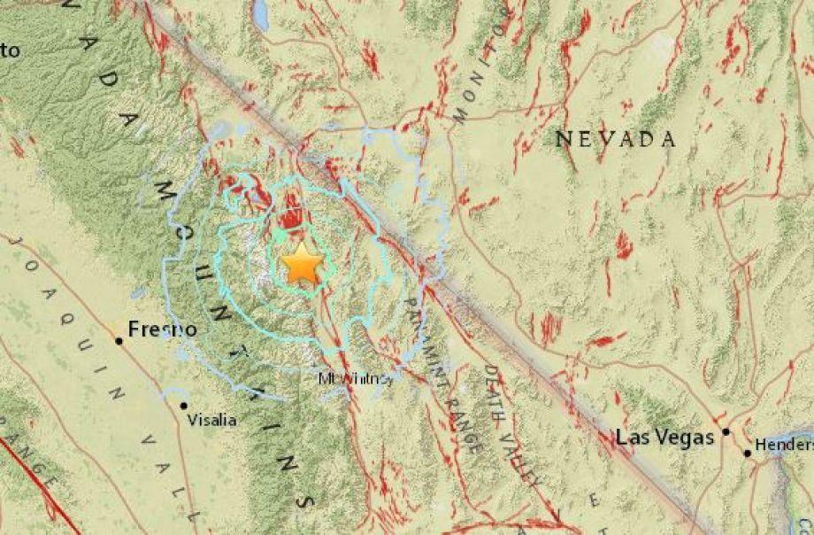 sierra nevada 4 8 earthquake 4 8 magnitude earthquake rattles sierra nevada towns m4
