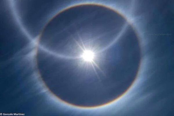 triple solar halo argentina, triple solar halo argentina video, triple solar halo argentina photo, triple solar halo argentina picture, triple solar halo argentina Catamarca, triple solar halo argentina february 2016