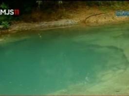 underwater sinkhole romblon philippine islands, underwater sinkhole creek romblon, sinkhole underwater creek philippine islands