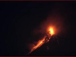 volcan de fuego eruption february 9 2016 guatemala