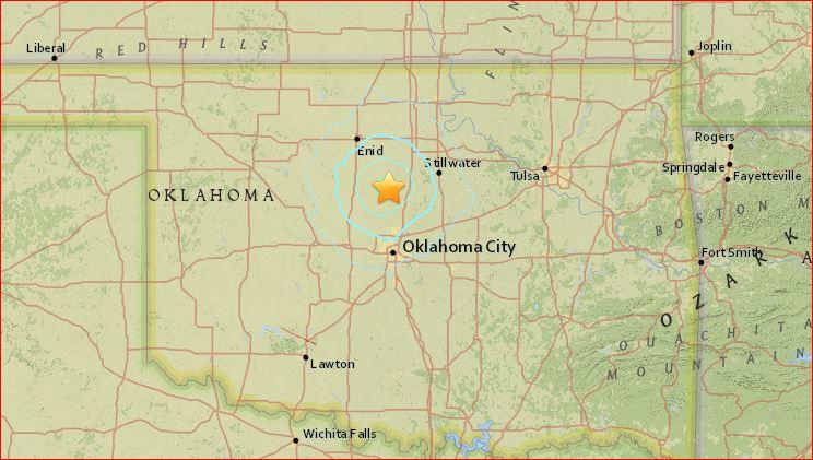 M4.2 earthquake crescent oklahoma march 29 2016, loud booms Oklahoma, fracking earthquake oklahoma march 29 2016
