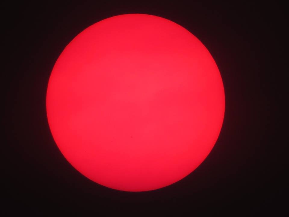 Under a Blood Red Sun