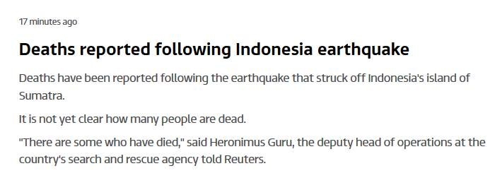 deadly quake indonesia march 2 2016