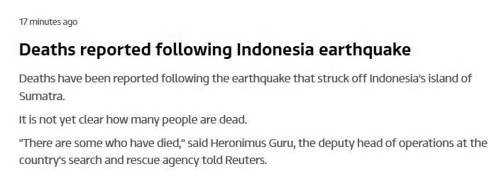 deadly quake indonesia march 2 2016