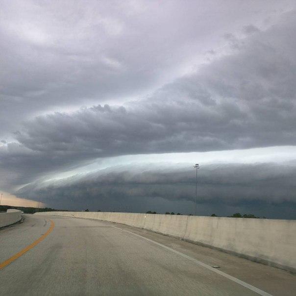 florida shelf cloud, florida storm march 25 2016, florida shelf cloud march 25 2016 picture