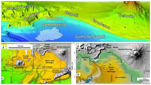 gas emitting dome bay of naples underwater volcano, underwater volcano naples, dome found in bay of naples, naples underwater dome, gas-emitting dome naples, naples underwater dome gas, discovery of gas emitting doom in bay of naples