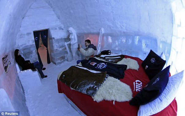 Welcome to the first ice hotel in Sweden - Strange Sounds