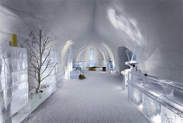 welcome to the first ice hotel in sweden strange sounds. Black Bedroom Furniture Sets. Home Design Ideas