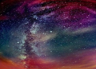 multicolor milky way, milky way pictures, best milky way photos, milky way image