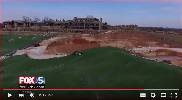 Monster sinkhole at golf course in Missouri has grown ...