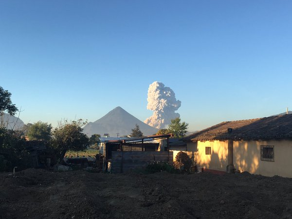 Santa Maria volcano eruption april 11 2016, Santiaguito volcano eruption april 11 2016, Gagxanul volcano eruption april 11 2016, Santa Maria volcano eruption april 11 2016 pictures, Santa Maria volcano eruption april 11 2016 video