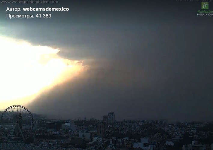 ash storm puebla popocatepetl eruption, ash storm puebla popocatepetl eruption april 2016, ash storm puebla popocatepetl eruption april 18 2016, mexico volcano eruption april 2016 video, Tormenta De Ceniza En Puebla - 18/04/2016, Tormenta De Ceniza En Puebla video
