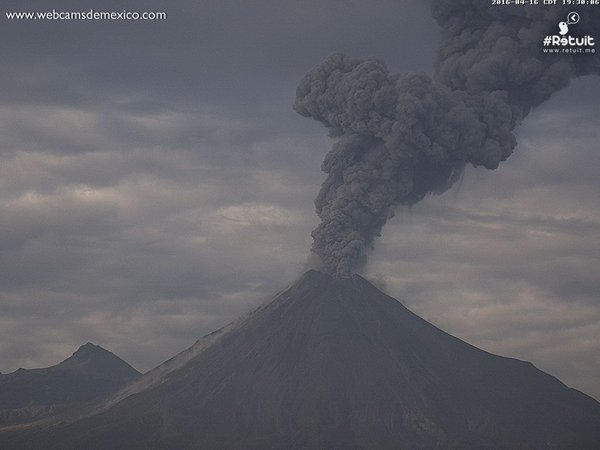 volcano eruption april 2016, increased volcanic activity worldwide, volcanic eruption april 16 2016, 3 volcanoes erupt simultaneously on April 16 2016