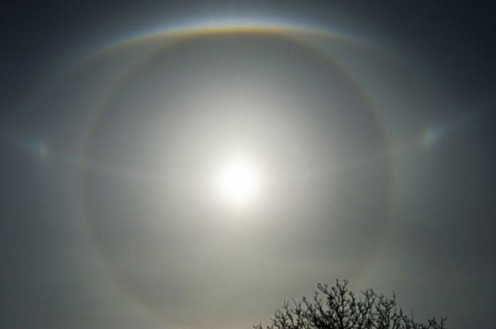 complex solar halo russia, big brother, solar halo, complex solar halo, impressive solar halo russia