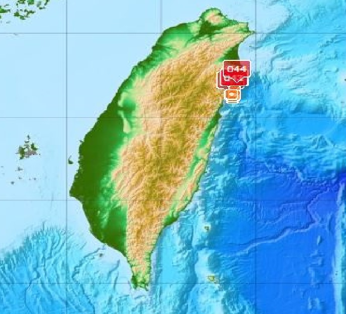 earthquake swarm taiwan april 28 2016, earthquake swarm hits taiwan april 2016, earthquake swarm eastern taiwan, 24 earthquakes hit eastern taiwan, taiwan 32 earthquakes april 2016