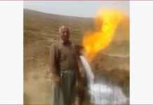 fire water afghanistan, fire shoots out from flowing water, water on fire afghanistan, desert burning water, spring water on fire afghanistan, water on fire video, water on fire in afghanistan desert video, water fire desert afghanistan video