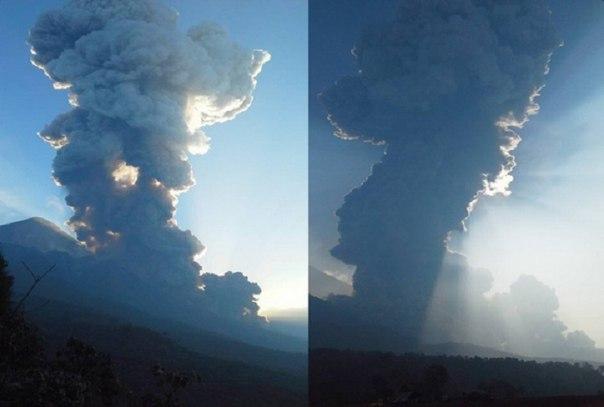 fuego volcano eruption april 19 2016, fuego volcano eruption april 19 2016 pictures, fuego volcano eruption april 19 2016 video