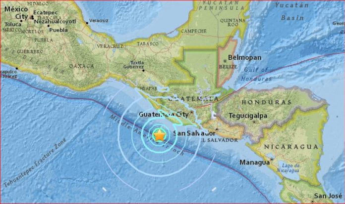 guatemala earthquake april 15 2016, guatemala earthquake april 15 2016 map, guatemala m6.1 earthquake april 15 2016