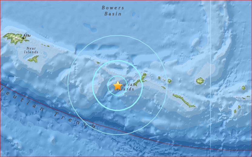 kiska volcano earthquake april 11 2016, kiska volcano earthquake april 11 2016 map, earthquake strikes kiska volcano, earthquake kiska volcano april 2016, volcano alaska earthquake