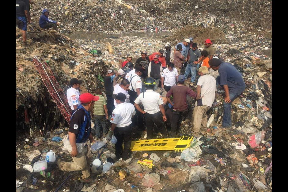 landfill collapse guatemala city, garbage dump collapse guatemala city, landslide garbage dump guatemala city, landslide kills 4 in garbage dump guatemala city, guatemala city garbage dump collapses