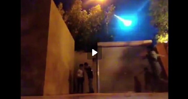 saudi arabia fireball april 3 2016, fireball saudi arabia april 2016 video, meteor saudi arabia april 2016 video, meteor fireball saudi arabia april 3 2016 video