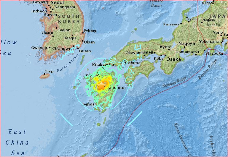 series of strong earthquake in Japan april 2016, m7.0 earthquake japan april 15 2016, m7.0 earthquake japan april 16 2016, m7.0 earthquake japan april 15 2016 photo, m7.0 earthquake japan april 15 2016 video