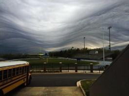undulatus asperatus clouds april 1 2016, georgia undulatus asperatus clouds april 2016, asperatus clouds georgia april 2016