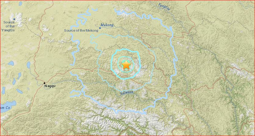 5.5-magnitude earthquake injures 60 and damages roads and buildings in Tibet on May 11, 2016 M5.5-earthquake-tibet-may-11-2016