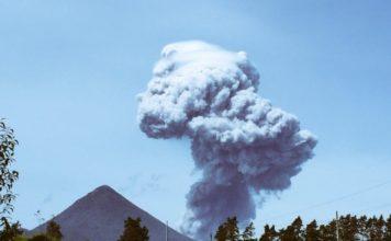Santiaguito Volcano eruption may 19 2016, Santiaguito Volcano eruption may 19 2016 photo, Santiaguito Volcano eruption may 19 2016 video, Reportan fuerte explosión del Volcán Santiaguito
