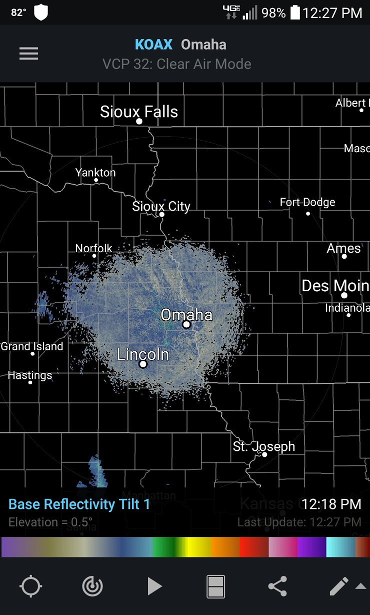 anomalous radar image iowa, strange radar image iowa, mysterious radar image iowa, strange radar image may 29 2016 iowa