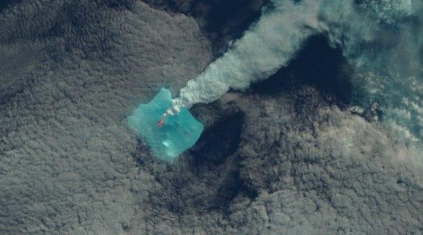 bristol island eruption may 2016