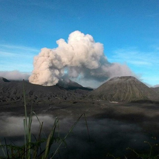 bromo eruption may 2016, volcanic unrest may 2016
