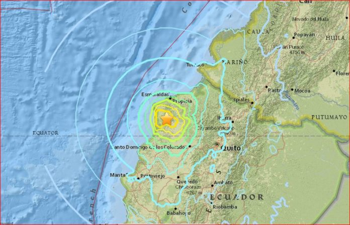m6.8 earthquake ecuador may 18 2016, powerful earthquake ecuador may 18 2016, ecuador may 18 2016 earthquake, earthquake ecuador may 18 2016