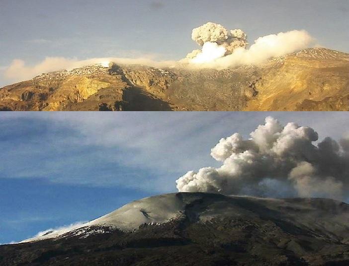 nevado del ruiz volcano colombia eruption may 2016, nevado del ruiz volcano colombia eruption may 2016 video, nevado del ruiz volcano colombia eruption may 23 2016, volcanic unrest worlwide may 2016