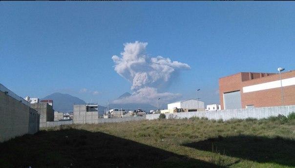 santa maria volcano eruption 14 maggio 2016,