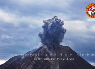 sinabung volcano eruption may 2016, sinabung volcano eruption may 2016 video, sinabung volcano eruption may 2016 photo, volcanic unrest 2016