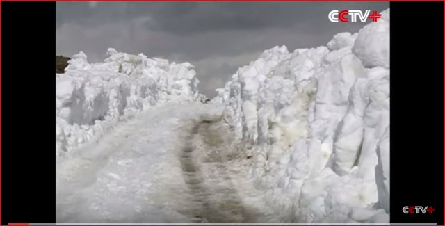 snowstorm china may 2016, giant snowstorm china may 2016, anomalous snow storm may 2016 video, 2 meters of snow fall in china, china 2 meters snow may 22 2016 video