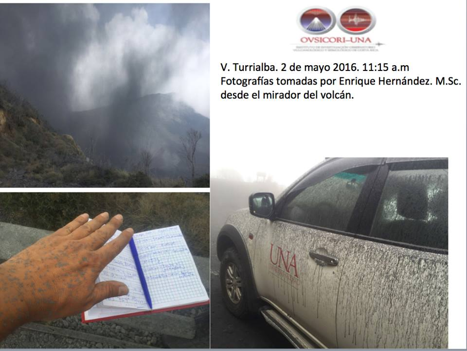 turrialba volcano eruption may 2 2016, volcanic unrest 2016, ring of fire increased activity 2016, 3 volcanoes erupt may 2 2016, lkatest volcanic eruption may 2 2016