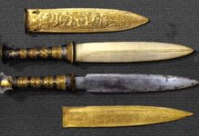 tutankhamun dagger meteorite iron extraterrestrial, Dagger of Tutankhamen is of extraterrestrial origin, meteorite iron Dagger of Tutankhamun, Dagger of Tutankhamun made from iron meteorite, iron meteorite tutankhamun dagger, tutankhamun dagger extreterrestrial iron, extreterrestrial origin tutankhamun dagger