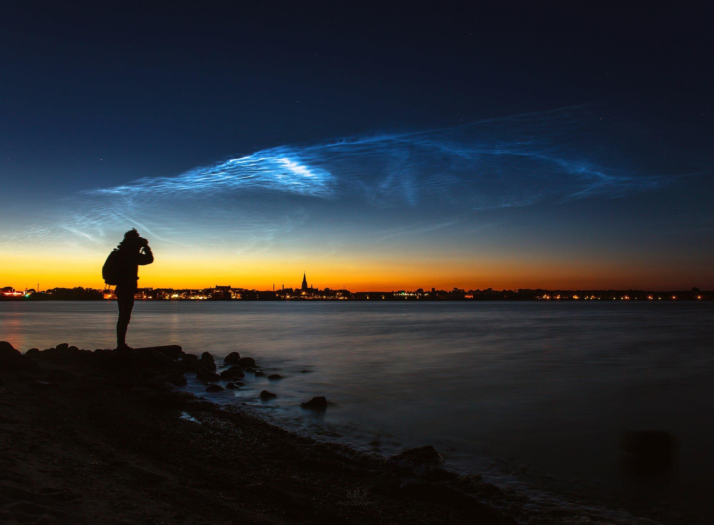 Resultado de imagen de Noctilucent clouds