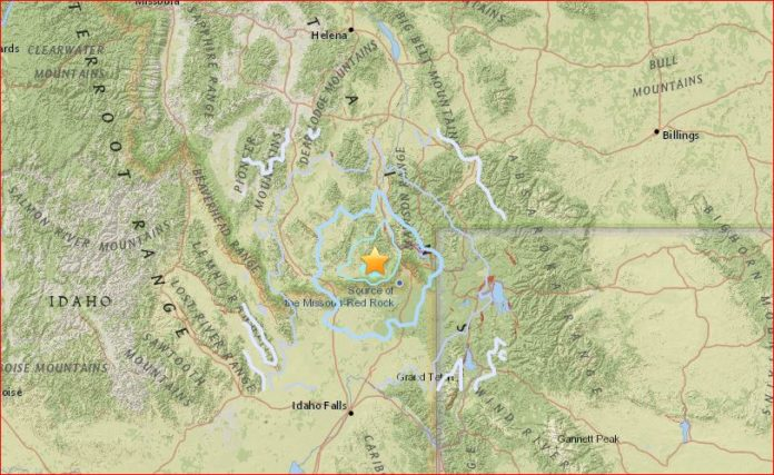 earthquake west yellowstone, earthquake west yellowstone june 13 2016, unusual earthquake earthquake yellowstone june 13 2016, montana earthquake june 13 2016