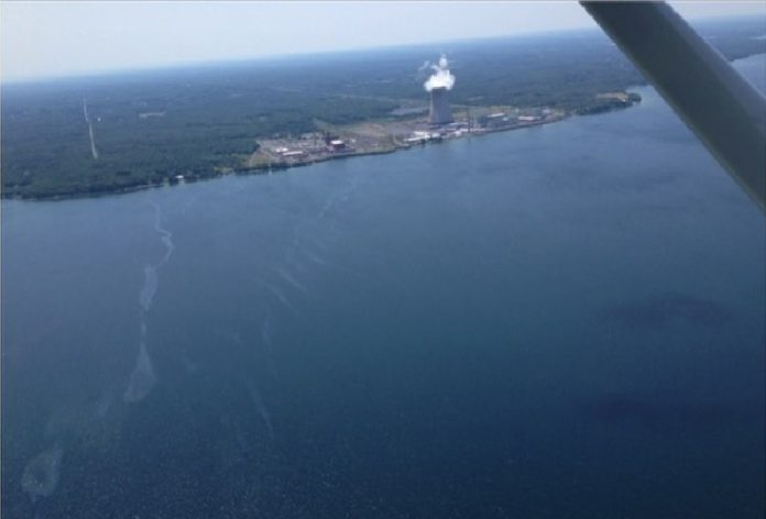 mysterious sheen lake ontario, unknown sheen lake ontario nuclear plant, mysterious sheen lake ontario nuclear plant, Unknown sheen appears on Lake Ontario near the Fitzpatrick Nuclear Power Plant sparks investigation in Scriba New York, Coast Guard investigates unknown sheen in Lake Ontario, Unknown sheen on Lake Ontario sparks investigation near power plant